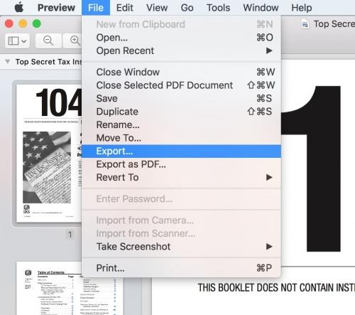 آموزش قرار دادن رمز بر روی فایل های pdf در مک